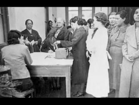 23 de sept dia de los derechos politicos de la mujer en argentina
