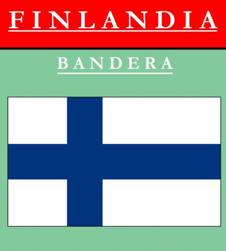 BANDERA DE FINLANDIA 6 de nov