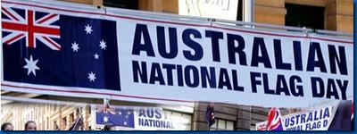 australia dia de la bandera 3 de setiembre
