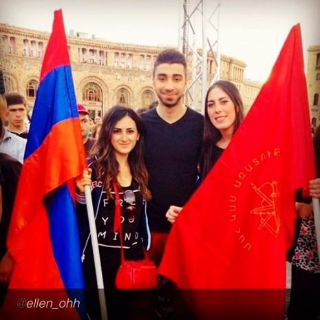 dia de la independencia en armenia 21 de sept