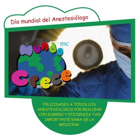 dia-mundia-del-anestesiologo 16 de octubre