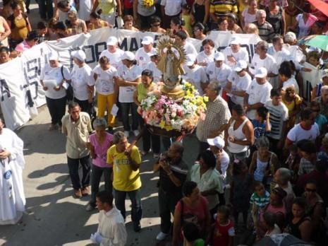 fiesta patronal de la virgen de la caridad de cobre en cuba 8 de septiembre