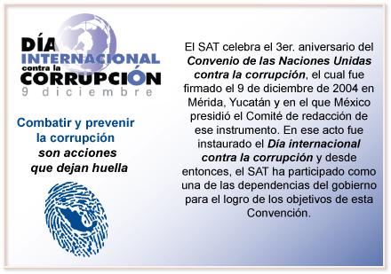 Día Internacional contra la Corrupción - 9 de Diciembre 09