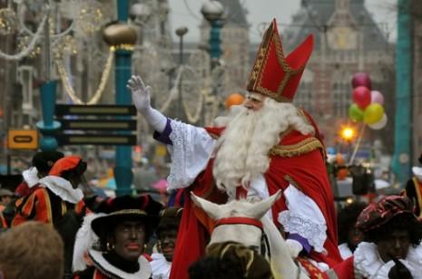 San-Nicolás-fiesta de en belgica 6 de dic