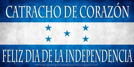 bandera de honduras catracho de corazon feliz dia de la independencia 15 de sept