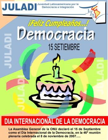 dia internacional de la democracia en peru