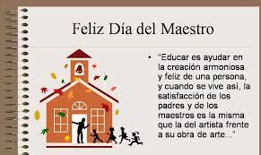 para un gran maestro feliz dia!!!