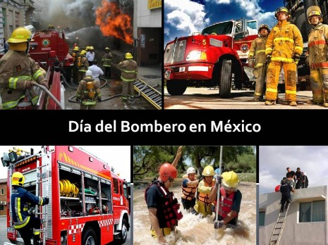 Día del Bombero en México 22 de agosto