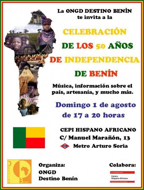 Día independencia Benín (1 agosto 2010)