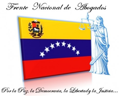 Frente Nacional de Abogados 23 de junio venezuela