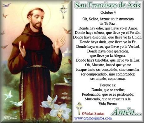 SAN FRANCISCO DE ASIS 11 ee uu