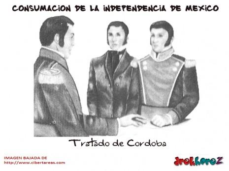 Tratado-de-Cordoba-Consumacion-de-la-Independencia-de-Mexico 27 de sept