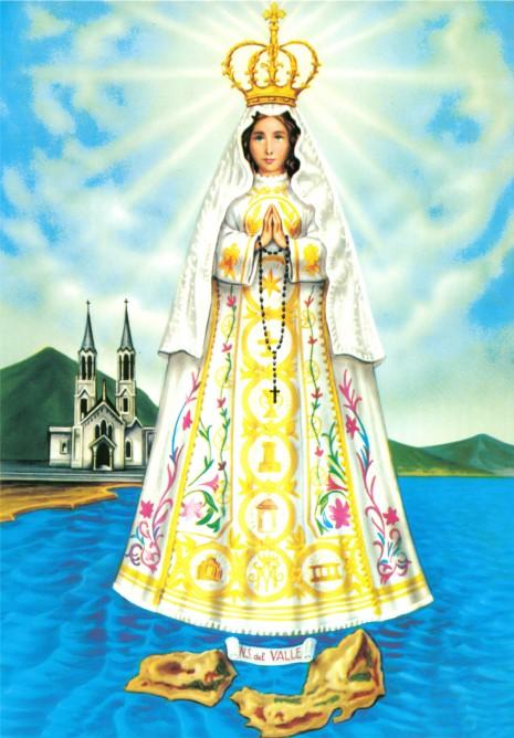 Virgen_del_Valle en venezuela 8 de sept