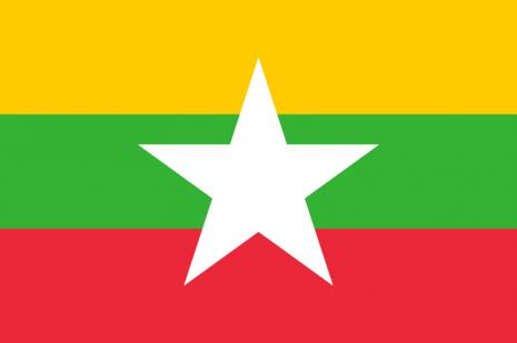bandera birmania 4 de enero