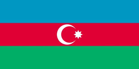 bandera-de-Azerbaiyan 18 de octubre