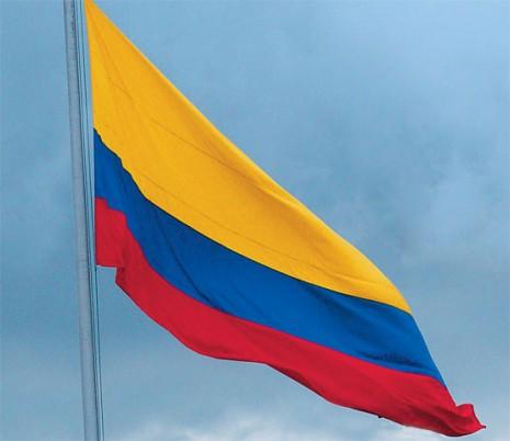 bandera de Colombia 7 de agosto