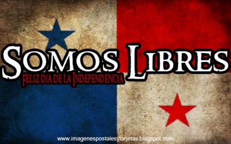 bandera de panama somo libres feliz dia de la independencia 28 de nov