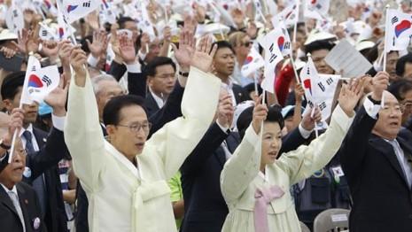 corea del sur 15 de agosto