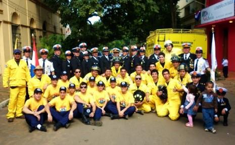 dia del bombero voluntario en paraguay el 4 de oct
