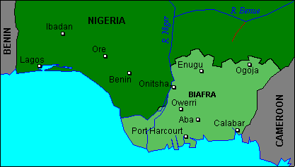 nigeria se independiza de el imperio britanico 1 de oct de 1960