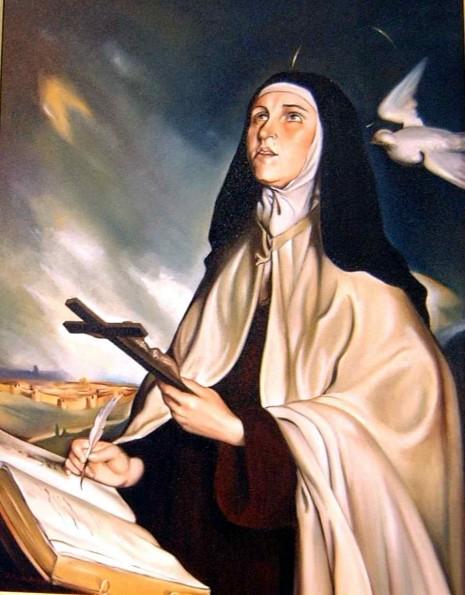 santa-teresa-de-jesus 15 de oct paraguay
