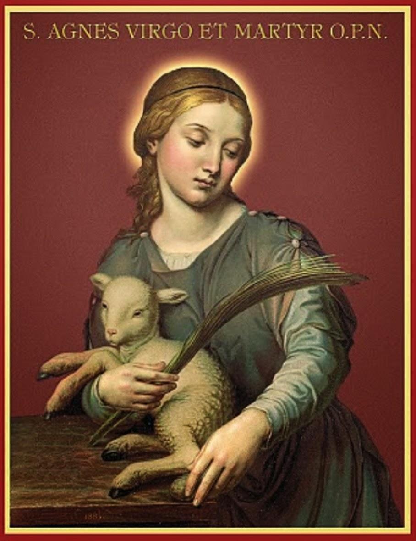 Santat Agnes Virgin & Martyr