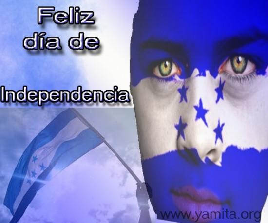 Feliz dia de Independencia Honduras