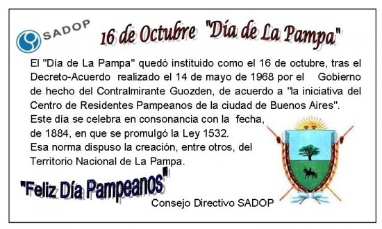 Dia de La Pampa