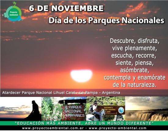 Proyecto Ambiental-Dia-de los parques nacionales