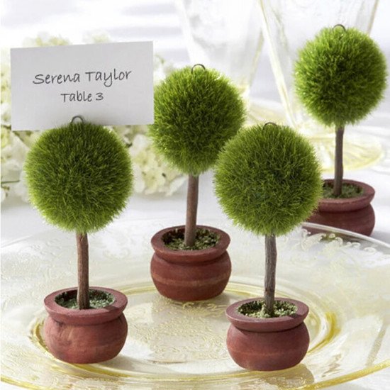 12pcs-Resin-Potted-Round-font-b-Plant-b-font-Table-font-b-Place-b-font-Card