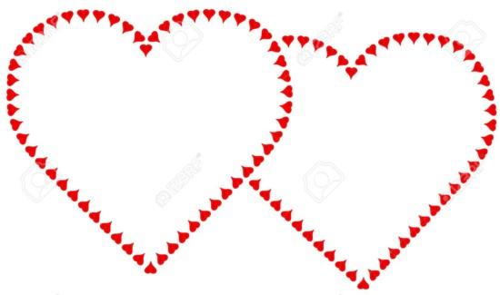 corazones11553657-Coraz-n-de-Corazones-cada-uno-compuesto-de-corazones-peque-os-Copiar-espacio-para-su-mensaje--Foto-de-archivo