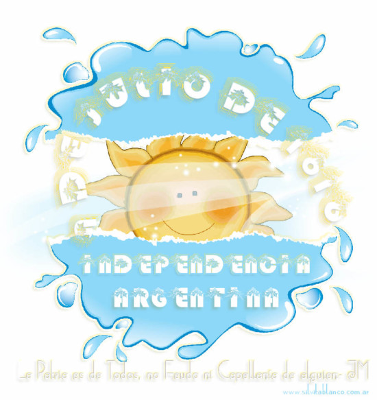 9-de-julio-dia-de-la-independencia-infantil-independencia+argentina