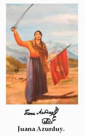 Juana Azurduy 2