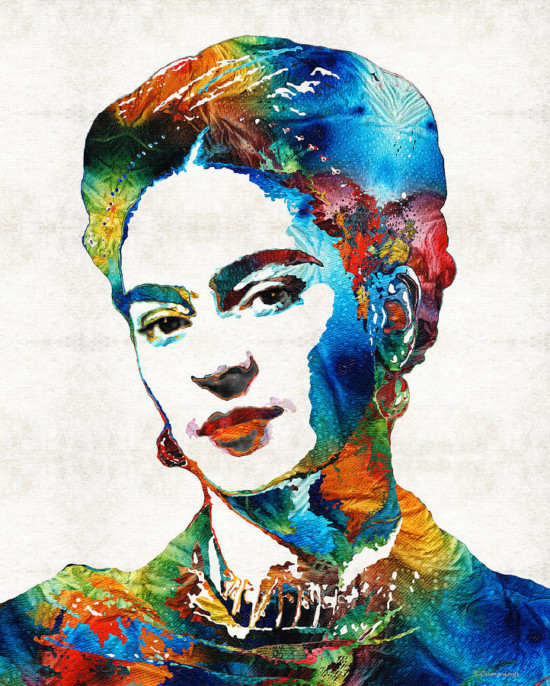 frida-kahlo-art-viva-la-frida-by-sharon-cummings-sharon-cummings